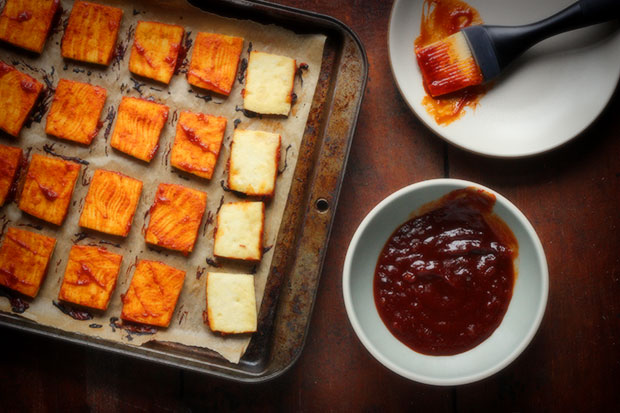 Baked Barbecue Tofu Recipe — Dishmaps